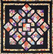 Four Patch fun quilt pattern at Annie's Quilting Den | Asian Quilt ... & Four Patch fun quilt pattern at Annie's Quilting Den Adamdwight.com