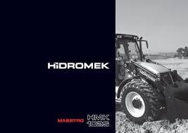 102 S Maestro Series - PÑƒÑ Ñ ÐºÐ°Ñ ÐºÐ°Ñ'алог - Hidromek