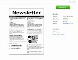 Free Teacher Newsletter Templates Ms Word Newsletter Template Free Beautiful Free Teacher Newsletter