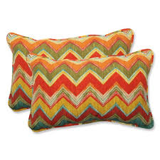 Pillow Perfect Outdoor Tamarama Multi Rectangular Throw Pillow
