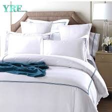china yrf hotel supply soft silk bedding king size embroidery cotton duvet cover set china bedding set bed linen
