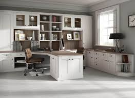 home offices fitted furniture. Plain Offices Fitted Home Office Furniture In With Driftwood Finish To Home Offices Furniture C