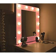 make up mirror lighting. hans u0026 alice hollywood mirror tabletops or wall mount lighted makeup vanity with led make up lighting