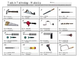 hand tool names. tools in technology - make-up name: hand tool names o