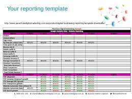 fundraising report template get your board on board with digital fundraising