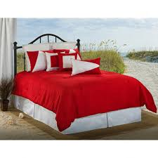 red and white bedding.  Red Delectably Yours Latitude 12 Red And White Nautical Bedding Collection Throughout And C