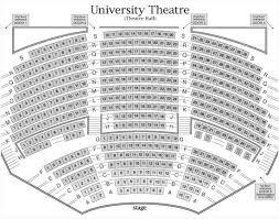 Seating Charts Weidner Center For The Performing Arts
