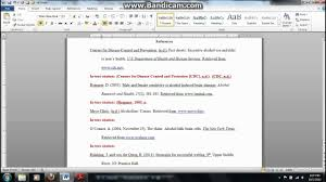 Apa Reference Format Youtube Certificate Letter From Work