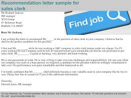 Recommendation Letter For Employee From Manager