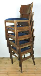 vintage 60s furniture. Vintage Stacking Ben Chairs For Sal4 Stacked 60s Furniture