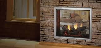 majestic outdoor lifestyles fortress indoor outdoor see through natural gas fireplace 36 inch
