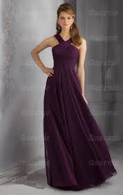 beautiful chiffon grape bridesmaid dress bnnbe0007 bridesmaid uk