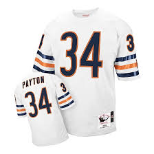Mitchell Payton Ness Walter Bears Authentic - White Jersey Chicago And Throwback
