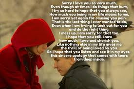 I M Sorry Love Quotes Custom I M Sorry Love Quotes For Her Brilliant Apology Am Him Cialisvbs