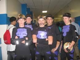globo gym purple cobras costume