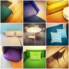 colorful modern furniture.  Modern Colorful Modern Furniture Interior Design Collage Of Nine Photos Stock  Photo  47207503 On Modern Furniture D