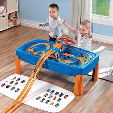 step2 hot wheels car track play table