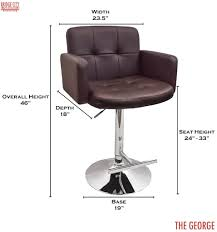 kitchen stool height large size of fixed breakfast bar with office chair and design photograph for