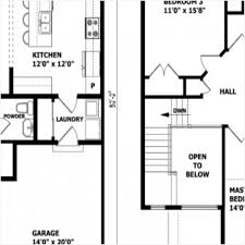 modern 2 story house floor plans modern house