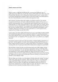 How To Make A Resume Cover Letter My Document Blog Do You For Via