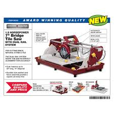 chicago electric tile saw. harbor freight tile saw stand by 7 quot bridge 1 5 hp chicago electric