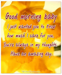 Good Morning Baby Love Quotes Best of Good Morning My Love Quotes For Him 24 GOoD Morning Image