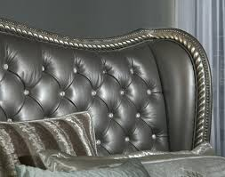 Hollywood Swank Bed Swank Cal King Upholstered Bed Headboard ...