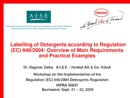 Light Duty Detergent Definition Ppt Labelling Of Detergents According To Regulation Ec