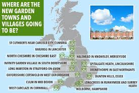 where will the new garden villages be ministers give green light to tens of thousands of new homes across england