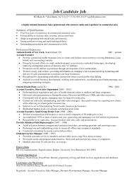 insurance sales resume sample job and resume template