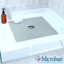 rubber shower mat square safety bath mats without suction cups