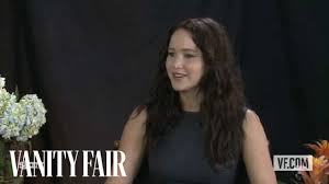 "Jennifer Lawrence Talks to Vanity Fair's Krista Smith About the Movie  ""Silver Linings Playbook"" - YouTube"