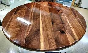 black round table top round table top round walnut table top solid black walnut wood breakfast