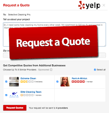 Select Quote Reviews Adorable Yelp Adds Request A Quote To Service Offerings WebSpin 48