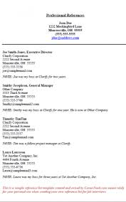 how to make a reference list for a job resume reference list formatted templates example