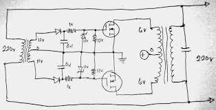 grid tie inverter connection diagram grid image simplest grid tie inverter gti circuit using scr electronic on grid tie inverter connection diagram