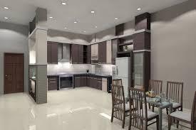 image of minimalist modern recessed lighting