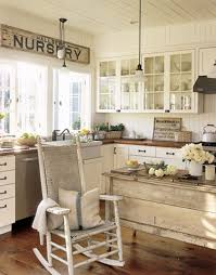 Small Picture cozy white retro kitchen decorating ideas with vintage chandelier
