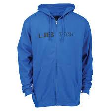 Lib Tech Size Chart 2018 Logo Hooded Zip