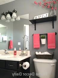 Black Red Bathroom Accessories Photo 1 Of 6 Best Blue Bathroom Decor