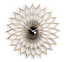 vitra wall clock sunflower clock
