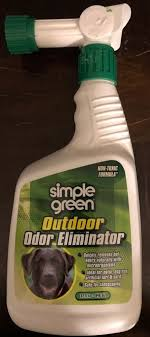 simple green outdoor pet odor eliminator non toxic safe fresh clean scent 32oz