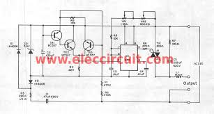 the complete circuit of supper dimmer