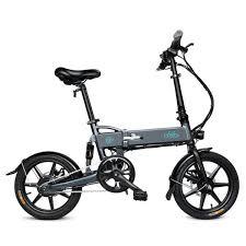 <b>FIIDO D2</b> Folding <b>Electric Bike</b> 16 Inch Tires 250W Motor 7.8Ah ...