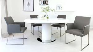 white gloss dining table white high