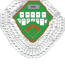 Comerica Park Seating Chart By Rows Comerica Park Detroit Tickets Schedule Seating Chart