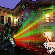 Green Laser Projector Light Christmas Laser Lights Yinuo Light Waterproof Projector Lights Landscape Spotlight Red And Green Star Show With Christmas Decorative Patterns For