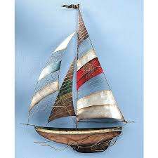 sailboat wall decor 0 set sail stylish home accents and d cor graceful clothing accessories rustic
