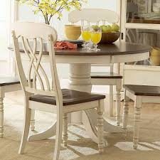 Round Kitchen Tables For 6 Round Wood Kitchen Table Sets Best Kitchen Ideas 2017