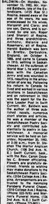 Obituary for Harold BALDWIN, 1888-1982 (Aged 94) - Newspapers.com